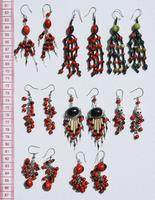Huairuro seed earrings