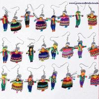 Ethnic men and women earrings