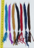 Color leather bracelets