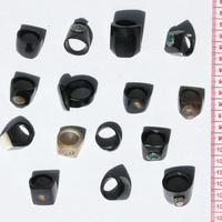 anéis de chifre