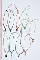 Color quarz necklaces