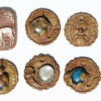 Duropox pingentes estilo étnico