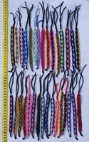 Macrame bracelets round ornament