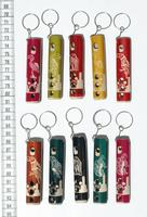 Keychains of flutes