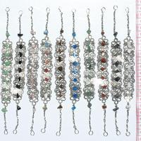 Alpaca silver bracelets