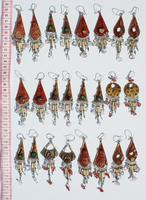 Ethnic ceramic earrings