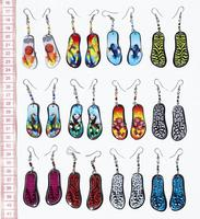 Beach shue earrings