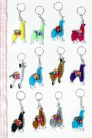 Keychains of alpaca