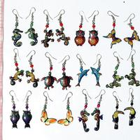 Animals earrings