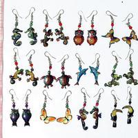 Tiere-Ohrringe