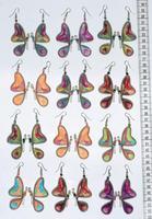 Brincos de asa de borboleta
