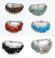 Bracelets pierres pépite