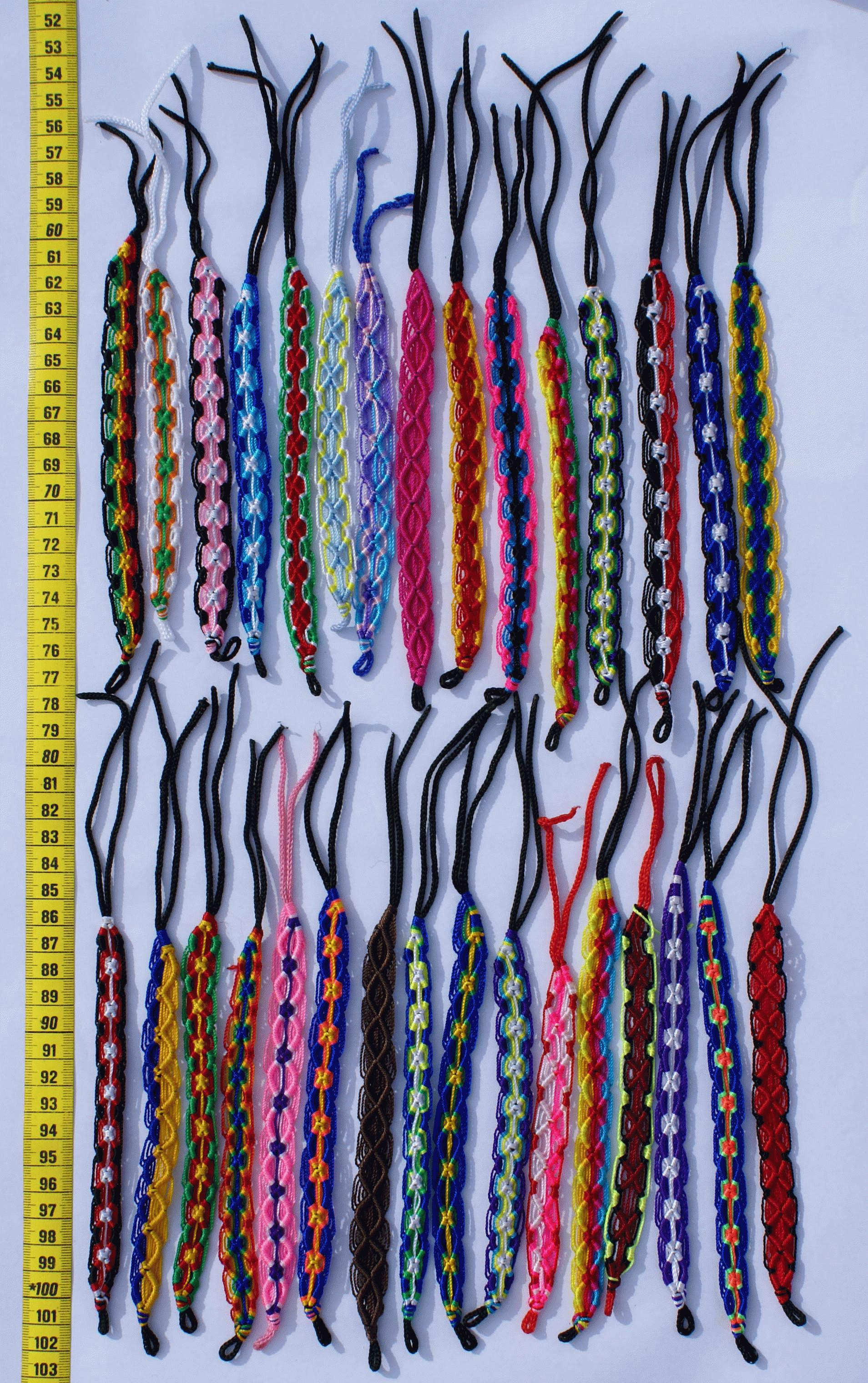 macrame material macrame on peru crafts wholesale handmade peruvian jewelry 3523
