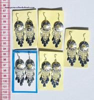 Alpaca drop earrings