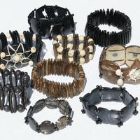 Coco seeds bracelets