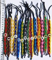 Wide macrame bracelets