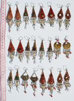 Ethnic ceramic earrings