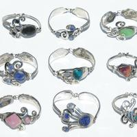 Bracelets with natural stones