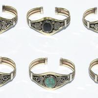 Bracelets with peruvian stones