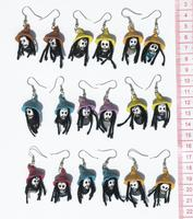 Earrings rasta faces