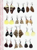 Asas de borboleta brincos